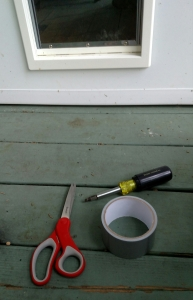 tools for pet door