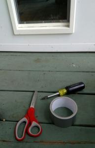 tools for pet door